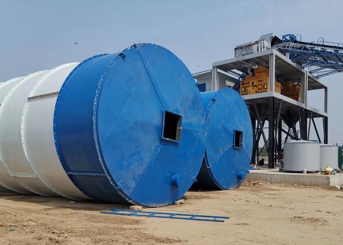 100吨-500吨现场制作水泥罐