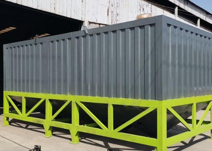 50-200吨卧式水泥仓