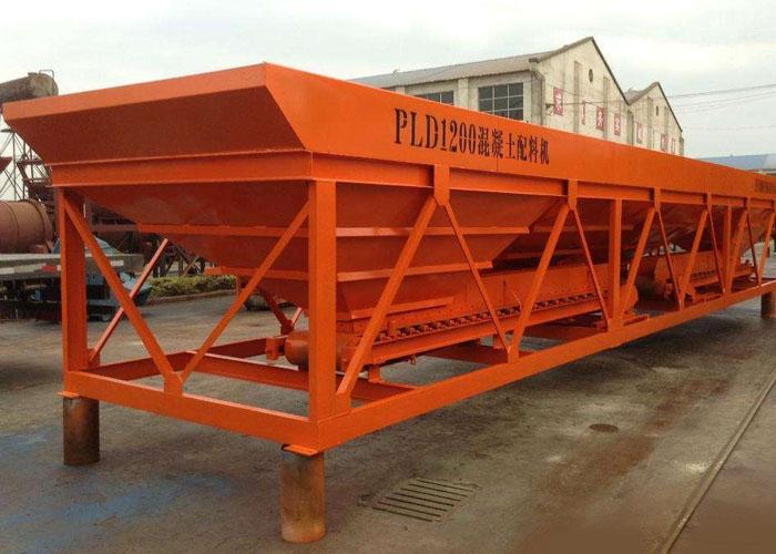 PLD1200三仓混凝土配料机