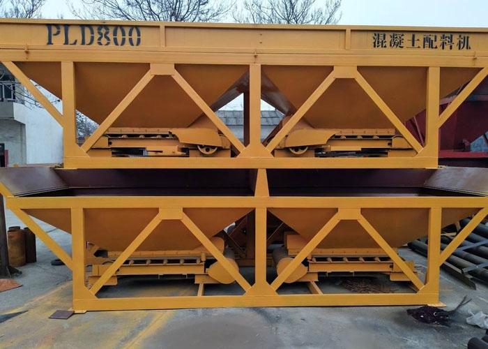 PLD800三仓混凝土配料机